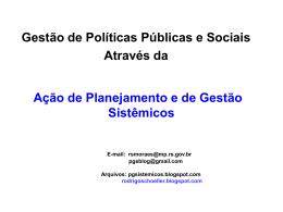 Parte I - Ministério Público