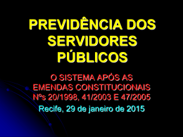 Regime Próprio de Previdência dos Servidores Públicos
