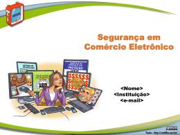 Slides PowerPoint - Cartilha de Segurança para Internet