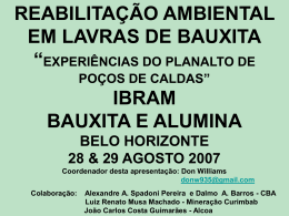 Alcoa - Ibram