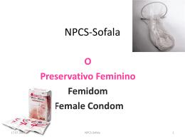 USO CORRECTO DO PRESERVATIVO FEMININO