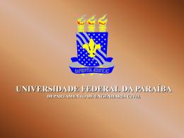 Ensaio de Plasticidade - Universidade Federal da Paraíba