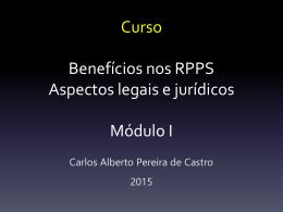 RPPS: Aspectos Jurídicos e Legais