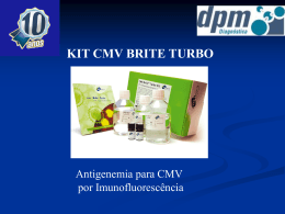 Técnica CMV Brite Turbo (Power Point)