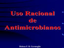 Helena FB Germoglio USO RACIONAL DE ANTIMICROBIANOS