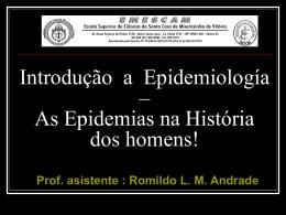 Una Breve Introducciуn a la Epidemiologнa - II (Historia