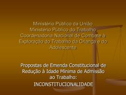 Apresentação do Dr. Rafael Dias Marques, Ministério Público do