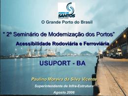 A experiência do Porto de Santos