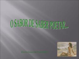 sabor de saber poetar