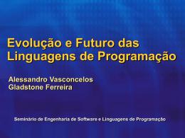 Evolucao e Futuro das Linguagens de Programacao