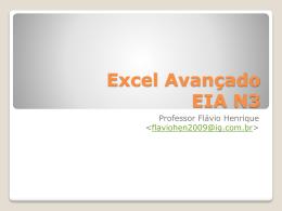 Aula 16-10-12 - EIA N3 - ava