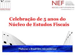 PESQUISA - Núcleo de Estudos Fiscais