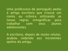 novas regras da lingua portuguesa