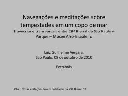 apresentação completa - Petrobras – Fatos e Dados
