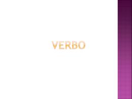 AULA 08 - VERBO