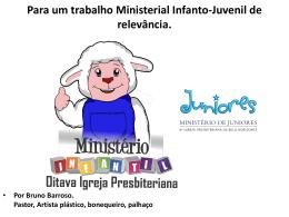 Para um trabalho Ministerial Infanto