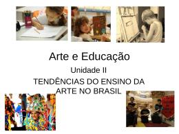 Arte e Educação - Universidade Castelo Branco