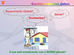 Questões Ambientais Globais