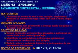 Avivamento pentecostal - História