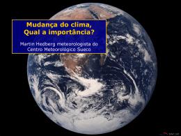 Mudança do clima