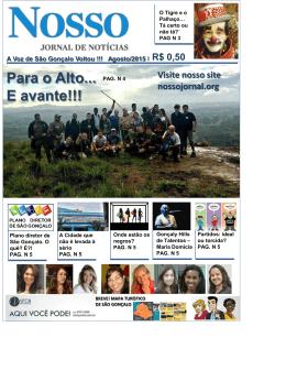 Artigos SETEMBRO 2015 - Nosso Jornal de Notícias