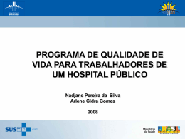 Slide 1 - Hospital Federal de Bonsucesso