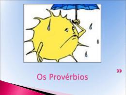 Os Provérbios