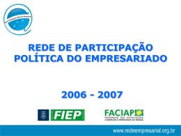 Projeto Político de Desenvolvimento das Cidades do Paraná