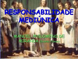 RESPONSABILIDADE MEDIUNICA