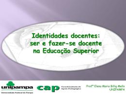 Identidades docentes: ser e fazer