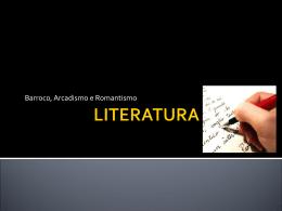 LITERATURA GERAL.