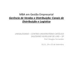 MBA ADMINISTRAÇÃO DE PRODUÇÃO E
