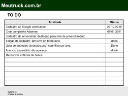 Slide 1 - MeuTruck Classificado caminhoes ônibus usados a venda