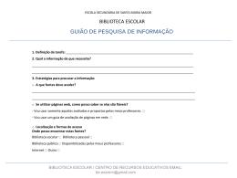 Diapositivo 1 - Agrupamento de Escolas de Santa Maria Maior