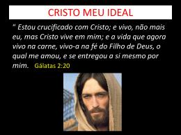 CRISTO MEU IDEAL