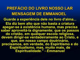 Prefácio do Livro Nosso Lar - André Luiz