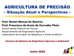 AGRICULTURA DE PRECISÃO E USO DO GPS