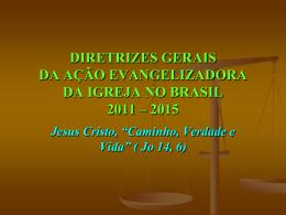 Apresentacao Diretrizes - Arquidiocese de Fortaleza