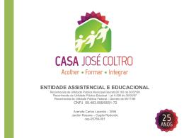 Voltar - Casa José Coltro