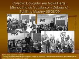 Coletivo Educador em Nova Hartz: Minhocário de Sucata com