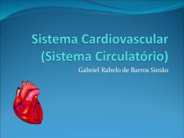 Sistema Cardiovascular Gabriel Simão