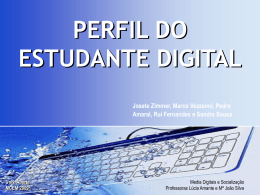 Perfil do Estudante Digital