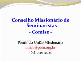 Apresentação do Comise