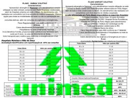 confira aqui os valores das tabelas dos planos de saúde - Sinca