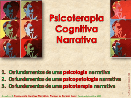 Psicoterapia Cognitiva Narrativa: Manual de Terapia Breve