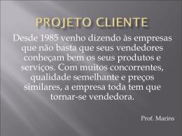 Projeto Cliente