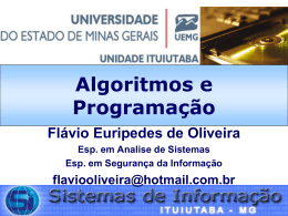 UEMG Universidade do Estado de Minas Gerais