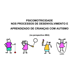 PSICOMOTRICIDADE NOS PROCESSOS DE