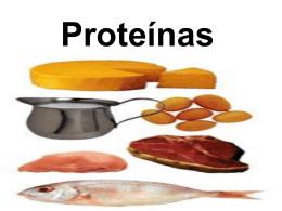 Proteínas - Portal Sipeb