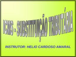 Substituição Tributaria